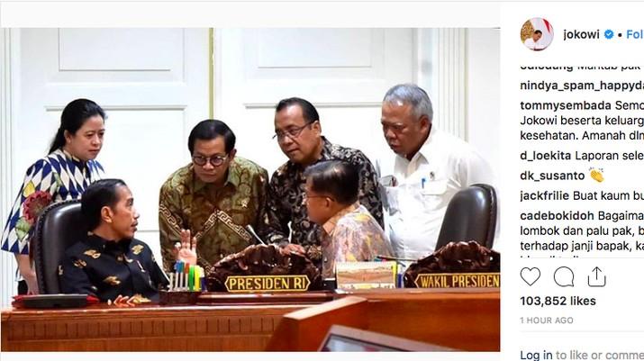 Jokowi Naikkan Tunjangan, 4 Menteri Ketiban Rezeki Nomplok
