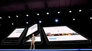 Samsung Beri Tanda Luncurkan Ponsel Lipat 20 Februari