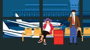INFOG: Alasan Penumpang Tertahan di Bandara