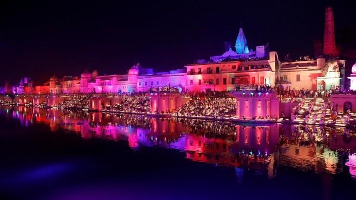 FOTO: Meriahnya Perayaan Diwali di India