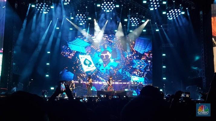 Konser Guns n Roses di Jakarta