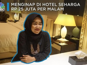 Begini Rasanya Menginap di Hotel Seharga Rp 25 Juta per Malam