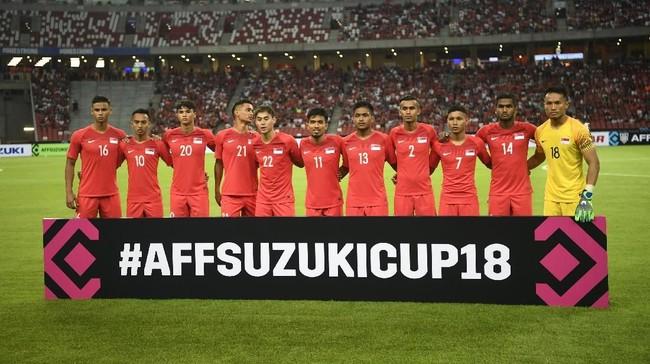 Tuan rumah Singapura melalui pelatih Fandi Ahmad memuji kualitas Timnas Indonesia yang memiliki permainan bagus serta pemain-pemain yang dilengkapi kecepatan. (ANTARA FOTO/Sigid Kurniawan/pd)