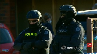 VIDEO: Polisi Australia Ungkap Pelaku Penikaman di Melbourne