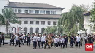 Cerita Jokowi Gowes Sepeda Ontel Tanpa Rem di Bandung