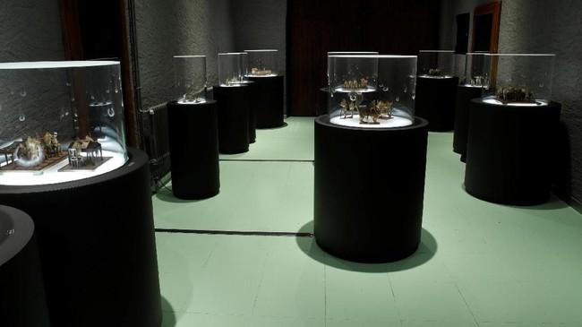 Museum ini dibangun pada 1850 terletak di Estavayer-le-Lac, Swiss. (REUTERS/Denis Balibouse)