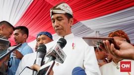 Jokowi Dianugerahi Gelar Pinisepuh Budaya Pasundan