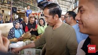 Jokowi Belanja Daging Ayam, Pedagang Klaim Harga Turun
