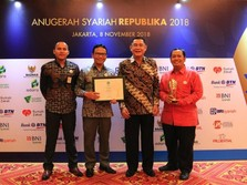 BNI Syariah Pertahankan The Best Sharia Bank di ASR 2018