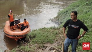 Anies: Citarum Kunci Kualitas Air Bersih untuk Jakarta