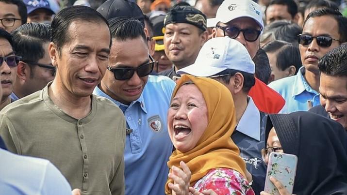 Ketika Jokowi Blusukan di Kota Kembang