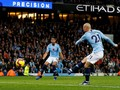 Man City Unggul 1-0 dari Man United di Babak Pertama
