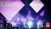 Kelomok musik asal Kanada,The Moffatts, juga tampil di The 90's Festival, Jakarta (10/11). Mereka mengaku bahwa Jakarta ialah panggung reuni pertama setelah vakum pada tahun 2001.