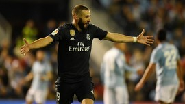 Real Madrid Ungguli Celta Vigo Berkat Gol Benzema di Babak I