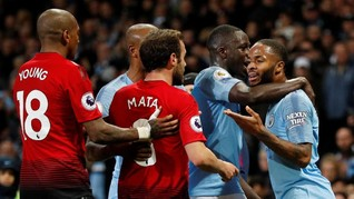 Undian Liga Champions: Mourinho Ingin Man United vs Man City
