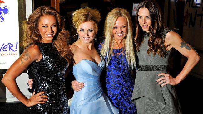 Spice Girls Pamer Set Panggung Jelang Tur Reuni
