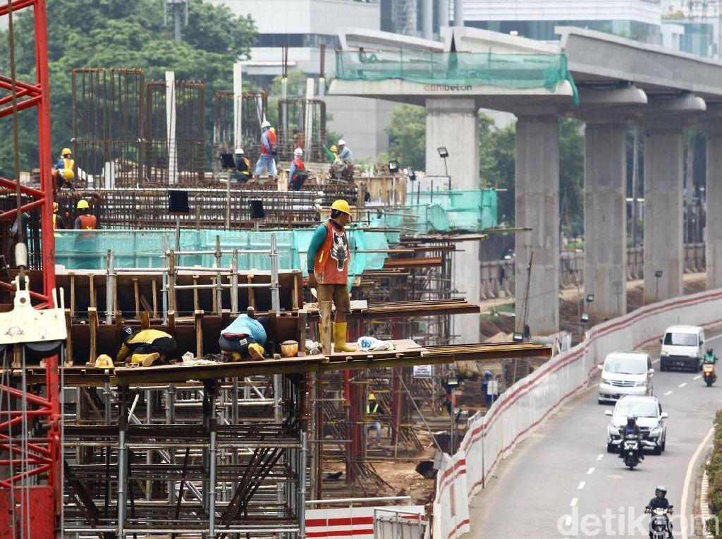 Sudah Sampai Mana Proyek LRT Jabodebek?