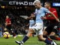 Awas MU, Aguero Sembilan Kali Cetak Gol di Derby Manchester