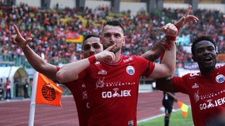PSM vs Persija, Marko Simic Targetkan Cetak Gol