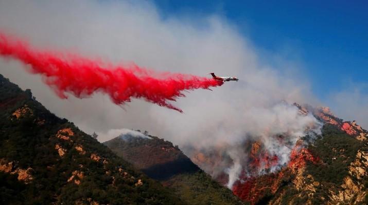 Kebakaran di California, Ancam Kawasan Elite di Malibu