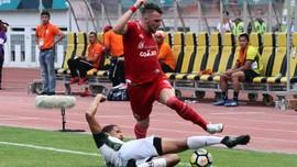 Persija Unggul 1-0 atas Bali United di Babak Pertama