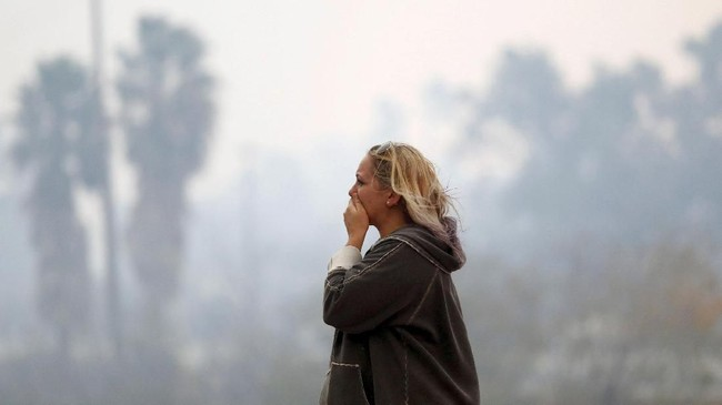 Begitu banyak korban dan kerusakan, bencana ini disebut-sebut sebagai kebakaran paling mematikan sepanjang sejarah AS. (Reuters/Eric Thayer)