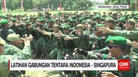 Latihan Gabungan TNI AD Indonesia-Singapura