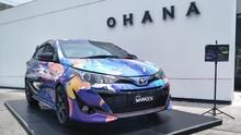 Warga Semarang Tes Yaris Ditemani Pebalap Toyota