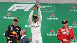 Lewis Hamilton Menang F1 GP Brasil