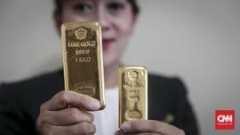 Penjualan Emas Antam Tembus 114 Persen