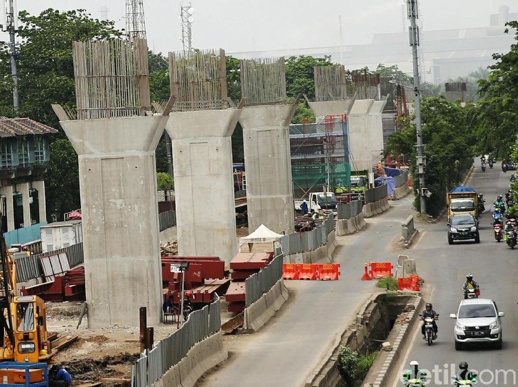 Tol Layang Dalam Kota Dibangun, Yuk Intip Progresnya