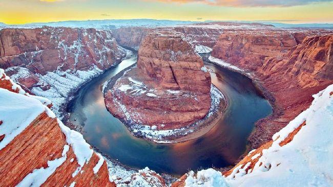 5 Taman Nasional di AS untuk Menikmati Musim Dingin