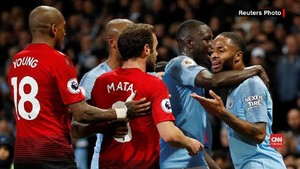 VIDEO: Man City Kalahkan Man United, Guardiola Puji Gol Cepat