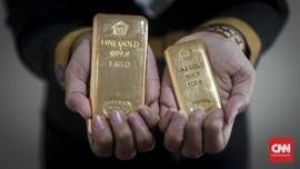 Harga Emas Jatuh Rp11 Ribu Karena Kesepakatan Dagang AS-China