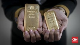 Harga Emas Mengilap ke Rp748 Ribu per Gram Jelang Akhir Pekan