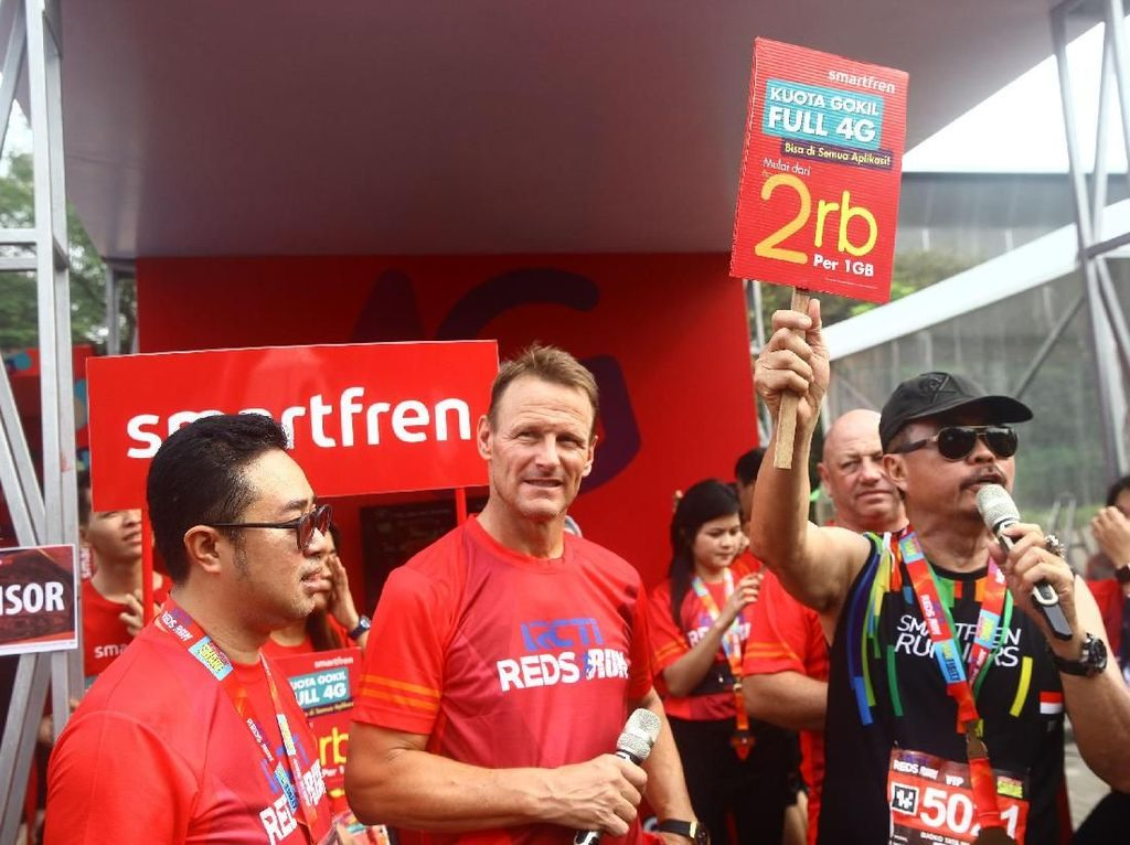 Smartfren Dukung Even Lari Reds Run 2018
