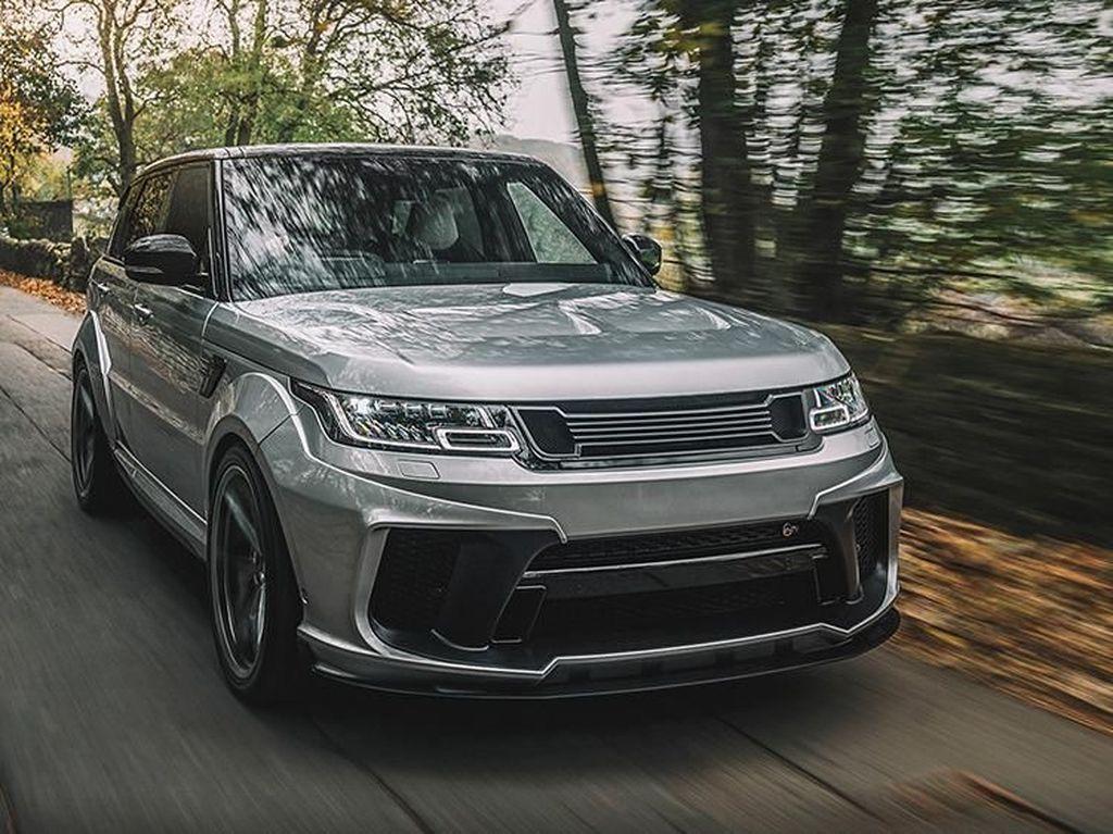 Modifikasi Mewah Range Rover Sport