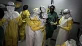 Wabah tersebut merupakan yang kesepuluh kalinya menimpa Kongo sejak Ebola terdeteksi pertama kali pada 1976 silam. (Photo by John WESSELS/AFP)