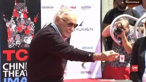 VIDEO: Bapak Semesta Marvel, Stan Lee Meninggal Dunia