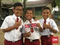 Anak Kelas 6 SD Sisakan Uang Jajan demi Timnas Indonesia