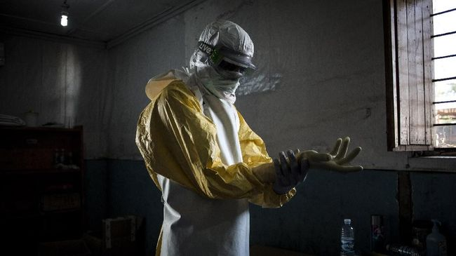 WHO Tetapkan Wabah Ebola di Kongo Jadi Darurat International