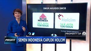 Semen Indonesia Caplok Holcim