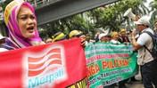 Mantan Karyawan Demo di Kemenkeu, Tuntut Merpati Dihidupkan!
