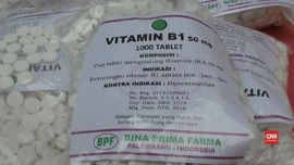 VIDEO: Polisi Amankan Pil Koplo dengan Label Vitamin B1