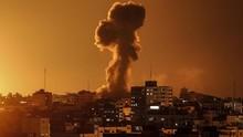 Israel Bombardir Gaza Usai Warga Palestina Lempar Bom