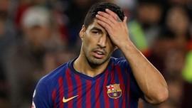 Suarez dan Pique Cekcok Saat Barcelona Kalah