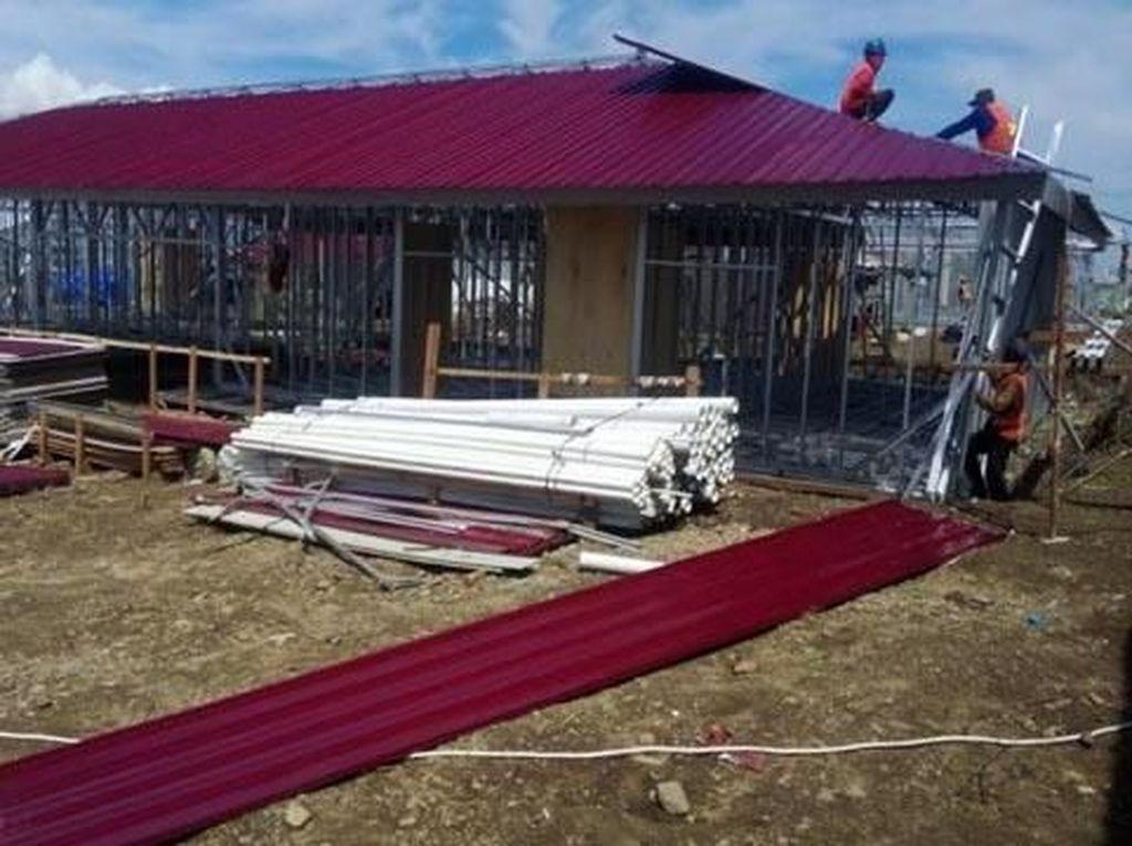 Pemerintah terus melakukan berbagai upaya dalam masa pemulihan kerusakan pascabencana gempa bumi yang disertai tsunami dan likuifaksi yang terjadi di sejumlah wilayah di Sulawesi Tengah (Sulteng). Istimewa/Kementerian PUPR.