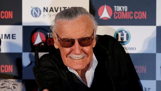 Stan Lee, 'Pahlawan' Para Pahlawan Super Marvel