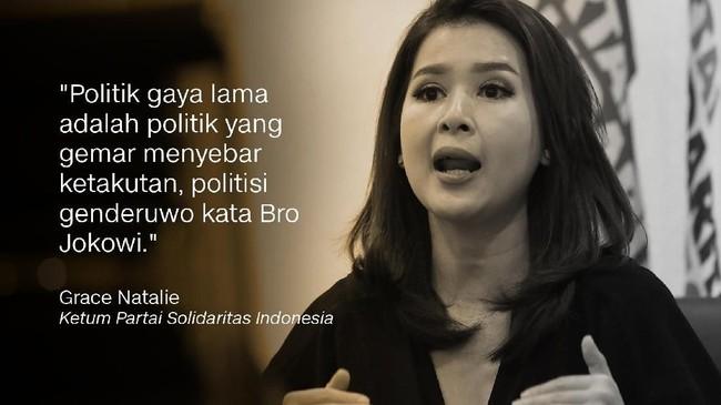 Grace Natalie, Ketum Partai Solidaritas Indonesia (PSI).