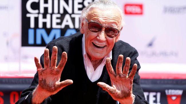 Duka Cita Para Pahlawan Super Marvel atas Kepergian Stan Lee